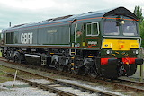GBRF 66779. Last British Class 66 locomotive.