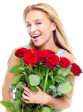 Girl with roses 022