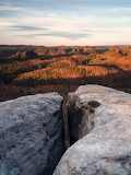 Landscape from Rocky Cliff