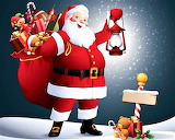 #Santa Claus at the North Pole