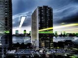 City Lights Reflections...