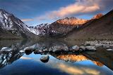 convict lake, easter sierra