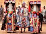 Traditional dress worn for Egungun masquerades