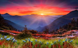 Mountain-sunset-wallpaper-4