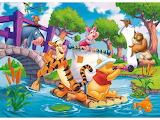 Winnie the Pooh's adventures