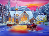 Quiet Christmas~ HD wp 1067x800