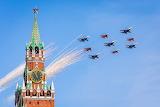 Самолеты над Москвой