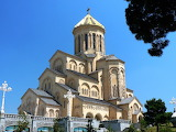 Cathedral in Tbilisi County of Georgia