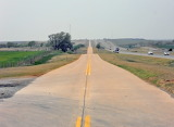 Between Clinton and Elk City Original 66 Footprint