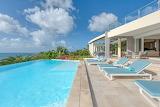 Luxury ocean view villa, St. Martin Island, Caribbean