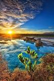 Blue Lake, Indonesia