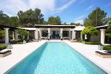 Luxury House and pool scene
