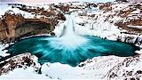 Aldeyjarfoss Waterfall, Iceland