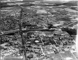 1928 Aerial of Salisbury, Maryland
