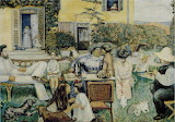 Pierre Bonnard, L'Après-midi bourgeoise, 1900