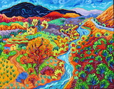 The Long and Winding River by Cathy Carey