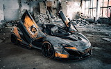 Looks Like an Apocalypse Survivor-McLaren 650S Chernobyl