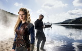 Vikings TV series Lagertha Lothbrok Katheryn Winnick Ragnar Lodb