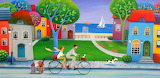 Afternoon Ride - Iwona Lifsches
