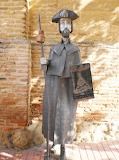 Advertising Statue for the Sahagun Albergue