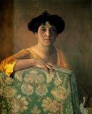 Félix Vallotton, Portrait de Gabrielle, 1908