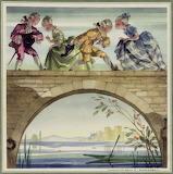 Sur le pont d Avignon Menu M IV 585