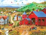 Kites Over the Farm~ MAVessey
