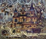 F4b16d6c1f0e757ac82bb87b70bd6c25--folk-art-paintings-halloween-a