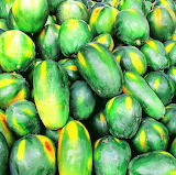 Rotate the papayas