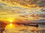 Sunset in Bulgaria