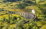 Glenfinnan ViaductTrain Bridge Scotland