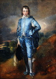 Copy of Gainsborough's 'Blue Boy' by Henry Bone