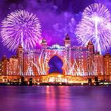 *Beautiful Fireworks, Dubai...