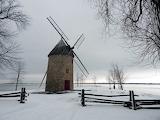 Moulin en hiver..