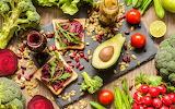 avacado and veggies