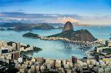 Botafogo with Sugarloaf Mountain Brazil