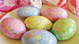 #Spring Decorated Easter Eggs