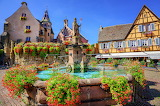 France Houses Fountains Monuments Eguisheim 540576 1280x851