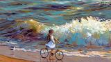 Wave, Hangmoon by Alexander Komarov