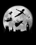 Full moon over London