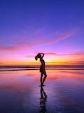 Sunset stroll.............................................x