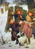 Ea005pv-arthur-elsley children-snowballing