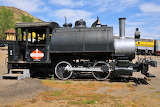 Standard Oil 0-4-0 oil burning tank locomotive at Golden, CO