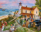 Lighthouse Surprise by Susan Brabea...