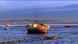 Boats in Morecombe Bay