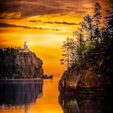 Split Rock Lighthouse, Minnesota, USA...