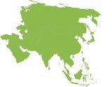 Asia mapa