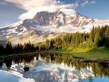 Reflection of Mount Rainier, Washington