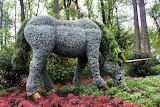 Atlanta Botanical Garden unicorn