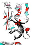 The Cat juggles